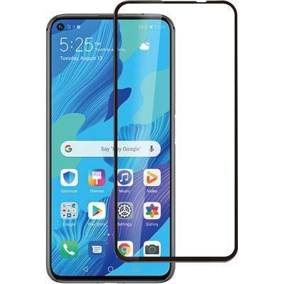 ESTUFF Huawei Nova 5T Screen protector - Zwart,Transparant