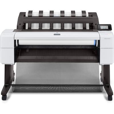 HP Designjet T1600 Grootformaat printer - Cyaan, Grijs, Magenta, Mat Zwart, Foto zwart, Geel