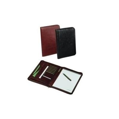 Rillstab organixer: Writing case Rome black - Zwart