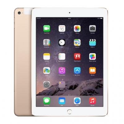 Apple tablet: iPad Air 2 Wi-Fi + Cellular 128GB - Gold - Goud