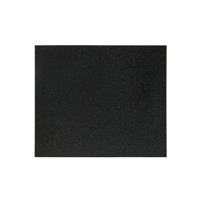 Securit bord: 350 x 300 mm, Black - Zwart