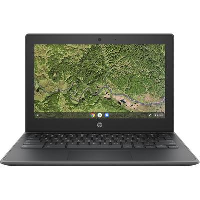 HP Chromebook 11A G8 EE Laptop - Kolen, Grijs