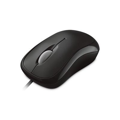 Microsoft Basic Optical Mouse Computermuis - Zwart