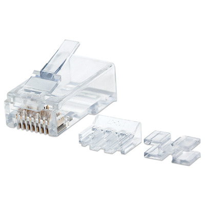 Intellinet 790550 Kabel connector - Transparant