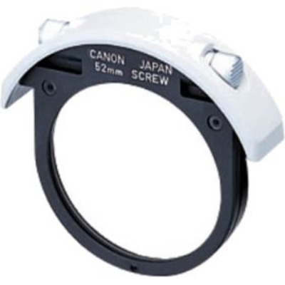 Canon F52HOLDER Drop in screw filter holder 52 mm Camera filter - Zwart, Wit