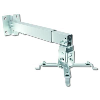 Techly Universal Wall and ceiling projector bracket, 20 kg, 43 - 65 cm - Silver Projector plafond&muur steun - .....