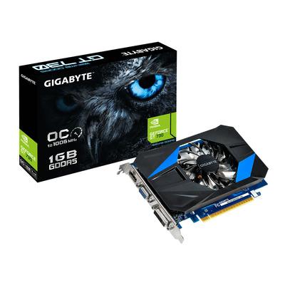 Gigabyte videokaart: GeForce GT 730 - Zwart, Blauw
