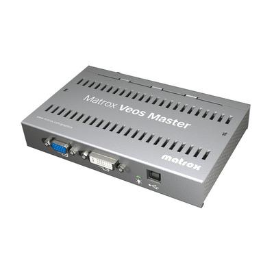 Matrox AV extender: Veos Master Unit - Grijs