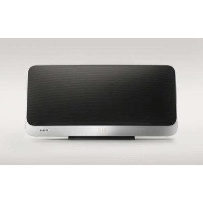 Philips home stereo set: Micro music system - Zwart, Zilver