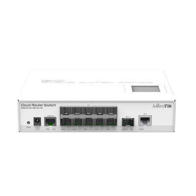 Mikrotik CRS212-1G-10S-1S+IN 10xSFP 1xSFP+ Cloud Router Switch - Wit