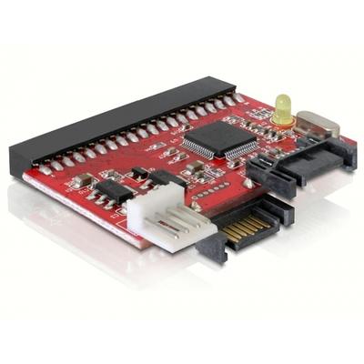 Delock interfaceadapter: Converter IDE >SATA / SATA>IDE - Zwart