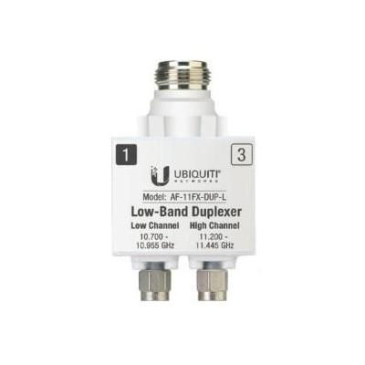 Ubiquiti networks fiber optic adapter: Low Band Duplexer Accessory - Zilver, Wit
