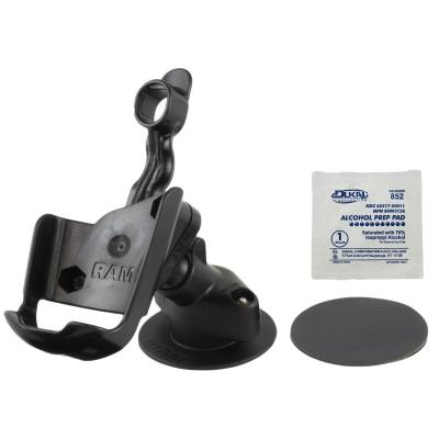 RAM Mounts Flex Adhesive Dashboard Mount, f/Garmin Astro 220, GPS 60 - Zwart