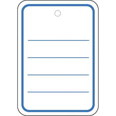 Herma etiket: Productlabel 42x60mm zonder draad 1000 St. - Blauw, Wit