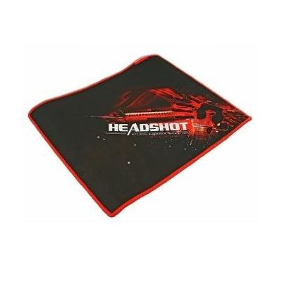 A4tech muismat: Bloody Gaming muismat 350 x 280 mm - Zwart, Rood