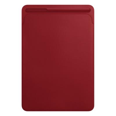 Apple tablet case: Leren Sleeve voor 10.5‑inch iPad Pro - (PRODUCT)RED - Rood