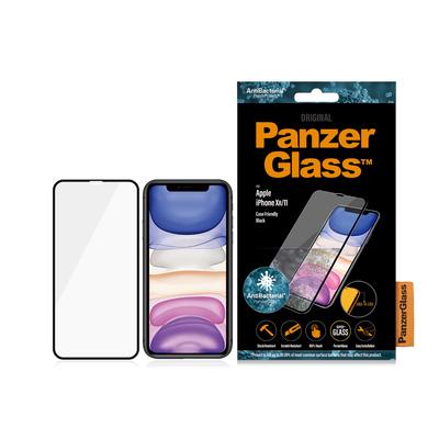 PanzerGlass Apple iPhone XR/11 Edge-to-Edge Anti-Bacterial Screen protector - Transparant