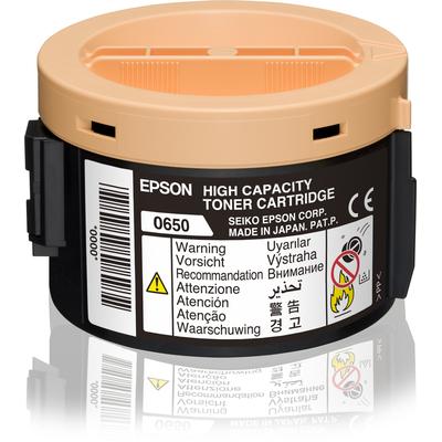 Epson High Capacity Cartridge Black 2.2k Toner - Zwart