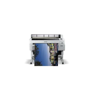 Epson SureColor SC-T5200D-PS Grootformaat printer - Cyaan, Magenta, Mat Zwart, Foto zwart, Geel