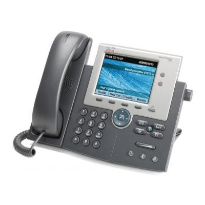 Cisco dect telefoon: Unified IP Phone 7945G - Grijs