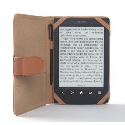 Odyssey e-book reader case: Odyssey, Cover f/ Sony PRS-T2/T1, Brown - Bruin
