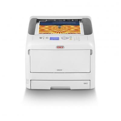 OKI C843dn laserprinter - Zwart, Cyaan, Magenta, Geel