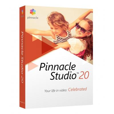 Corel videosoftware: Pinnacle Studio 20 Standard ML EU