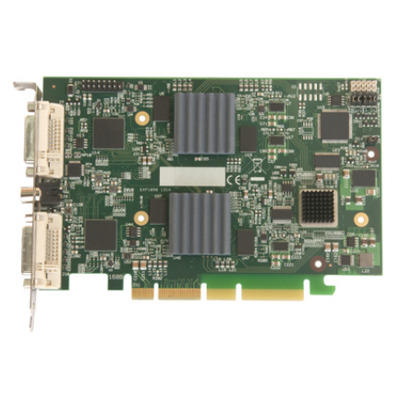 Datapath PCI Express x4 half size, 110mm x 170mm, 2 x DVI-I, 1 x RCA Video capture board