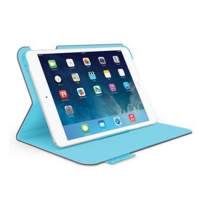 Logitech tablet case: Folio Protective Case - Blauw, Grijs