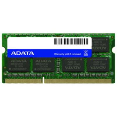 Adata RAM-geheugen: 4GB DDR3L 1600MHz - Groen
