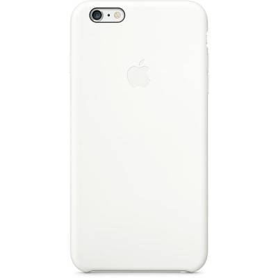 Apple mobile phone case: Siliconenhoesje voor iPhone 6 Plus - Wit