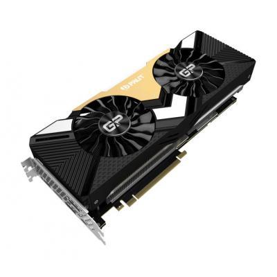 Palit NVIDIA GeForce RTX 2080 Ti GamingPro, 11GB GDDR6, 352 bit, 4352 CUDA, OpenGL 4.5, PCI E 3.0 Videokaart - .....