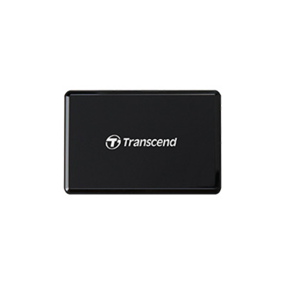 Transcend RDF9 Geheugenkaartlezer - Zwart