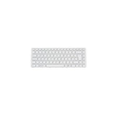 Samsung toetsenbord: Replacement keyboard, EN layout, White, for NP-N120/NP-N510 - Wit, QWERTY