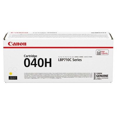 Canon 040H Toner - Geel