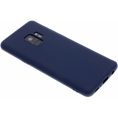 CP-CASES Color Backcover Samsung Galaxy S9 - Donkerblauw / Dark Blue Mobile phone case