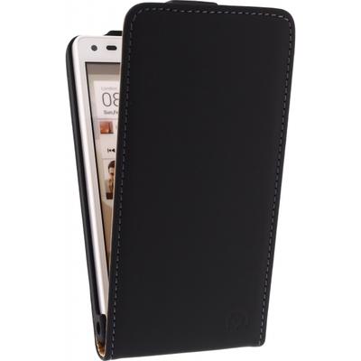 Mobilize Ultra Slim Flip Case voor Huawei Ascend G6 (3G) - Zwart Mobile phone case