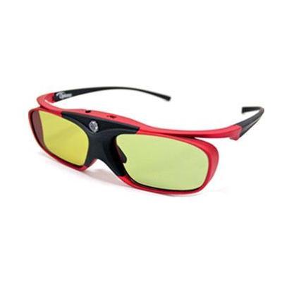 Optoma 3D-Brillen: ZD302 - Zwart, Rood