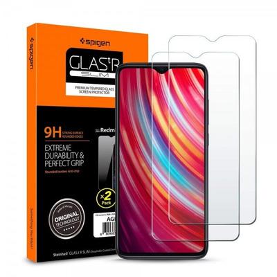 Spigen 9H Tempered Glass Screen protector - Transparant