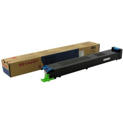 Sharp Cyan Cartridge, 10000 Pages @ 5% Coverage Toner - Cyaan