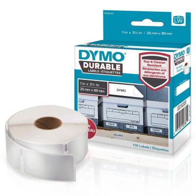 DYMO LW Durable Labels Etiket - Wit