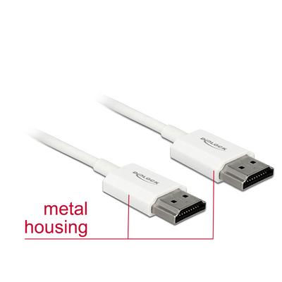DeLOCK 85139 HDMI kabel - Wit