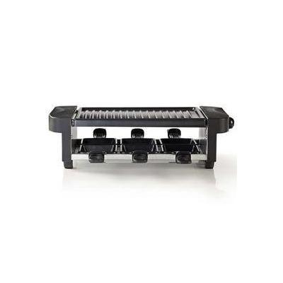 Nedis raclette: 1000W, 230V, 1m Kabel, Zwart