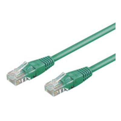Goobay 0.25m 2xRJ-45 Cable Netwerkkabel - Groen
