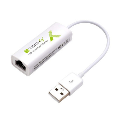 Techly IDATA ADAP-USB2TY2 Netwerkkaarten