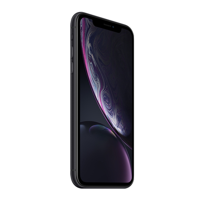 Apple smartphone: iPhone iPhone XR - Zwart 64GB