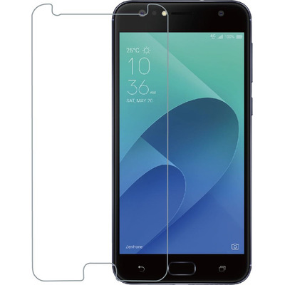 Azuri Tempered Glass flatt RINOX ARMOR - transparent - Asus Zenfone 4 Selfie Screen protector - Transparant