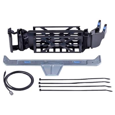 Dell rack toebehoren: Kabelbeheerarm 1U - Zwart, Zilver