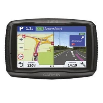 Garmin navigatie: zūmo 595LM Travel - Zwart