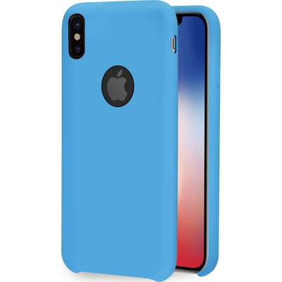 Azuri Rubber cover - blauw - voor Apple iPhone X/Xs Mobile phone case